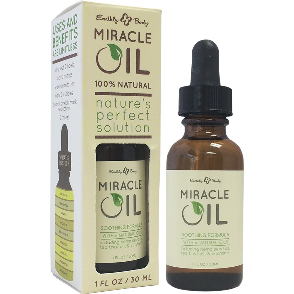 Earthly Body Miracle Oil 1 oz.