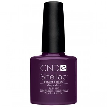 CND Shellac Power Polish Grape Gum .25 oz. - Summer Splash